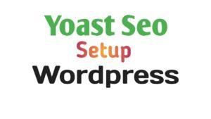 Yoast SEO Plagin Setup