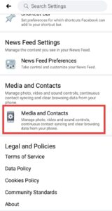 Turn Off Facebook Auto Play