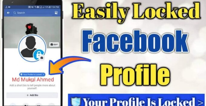 How to lock facebook profile lock